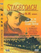 Stagecoach All Region DVD  John Wayne, Claire Trevor, Andy Devine NEW UK R2