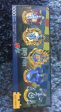 Aquarius Harry Potter Crests Slim Puzzle (1000 Piece) NEW