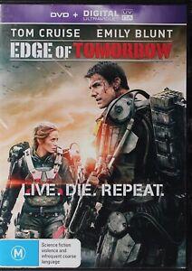 Edge Of Tomorrow DVD - Tom Cruise - Free Post