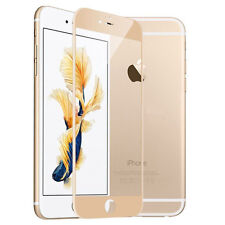 iPhone 7 3D FULL COVER Gold iphone 7 Panzerglas Panzer Folie GOLD 9H Schutz