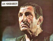 LES MISÉRABLES - Lino Ventura / Jean Carmet - SET 32 PHOTOS D'ÉPOQUE (1982)