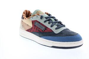 Reebok Club C 85 Kung Fu Panda Mens Gray Collaboration Sneakers Shoes