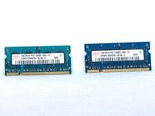 HYNIX 2GB (2x1GB) -- 1GB 2Rx16 PC2-6400S-666-12 Memory - Pair