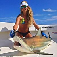 5 Eagle Claw  Heavy duty L9018M Bronze O Shaunessy hooks 11/0 sharks Gaff hook