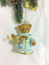Cherished Teddies Ornament 2011 Dated Angel Bell Rubi NIB SIGNED