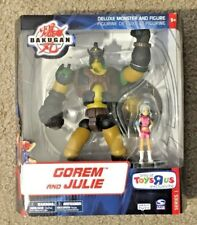 2008 Bakugan gorem and Julie Battle Brawlers Toys R Us Exclusive (NIB)