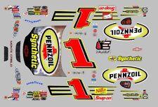 #1 Jeff Green Pennzoil DEI 2003 Monte Carlo 1/64th HO Scale Slot Car Decals