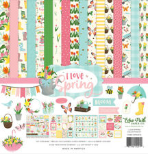 """New Echo Park  12"""" x 12"""" Paper Collection Kit I Love Spring"""