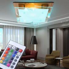 7 watt RGB LED decken Spiegel Kristall Wohnzimmer leuchte Dimmer Farbwechsler