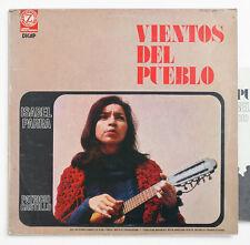 ISABEL PARRA PATRICIO CASTILLO Vientos del pueblo ORIGINAL 1974 VPA 8216 LP