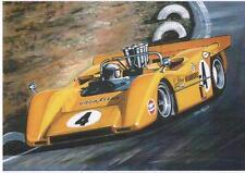 Bruce McLaren, Can-Am 1968 impresión de arte