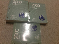 2000 FORD FOCUS Service Repair Shop Manual Set W ELECTRICAL WIRING DIAGRAM OEM