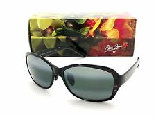 NEW Maui Jim KOKI BEACH Black & Grey Tortoise / Neutral Grey Polarized 433-11T