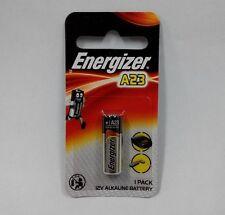 1 pc x Energizer A23 Battery 12Volt 23AE 21/23 GP23 23A 23GA MN21 12v, Exp. 2018