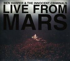 Live From Mars - Ben Harper (2001, CD NIEUW)2 DISC SET