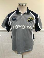 RARE Canterbury Munster Rugby Away 2007 Jersey Grey Shirt CCC Alternate Size S