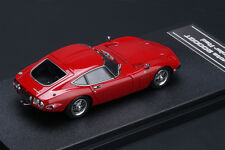 Toyota 2000GT **Solar Red** -- HPI #8331  RESIN 1/43
