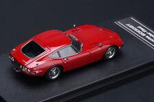 Toyota 2000GT **Solar Red** -- HPI #8331  RESIN 1/43