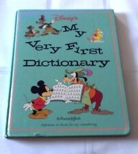 Disney'S My Very First Dictionary By Vincent Jefferds Pwn220