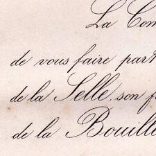 Marie Paul De La Selle 1876 Françoise De La Bouillerie