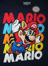 Nintendo Super Mario 3 Brothers Video Game 2017 Navy Blue T-Shirt New Mens XL