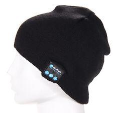 Warm Beanie Hat Wireless Bluetooth Smart Cap Headphone Headset Speaker