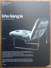Kho Liang ie - Wil Bertheux - Ettore Sottsass jr. -  Stedelijk museum - 1971