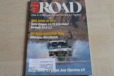 163999) Jeep Cherokee 4.0 vs Range Rover 3.9 - Off Road 05/1989