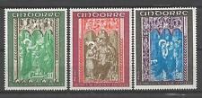 Andorre Français 1971 Yvert n° 214 à 216 neuf ** 1er choix