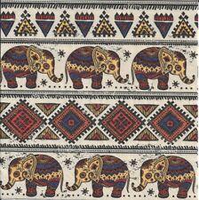 2 Serviettes en papier Motifs Africains Decoupage Paper Napkins African pattern