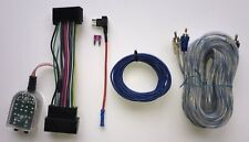 Ford 2011-2018 Factory Radio Add A Subwoofer Amp Plug and Play Harness RCA Cable