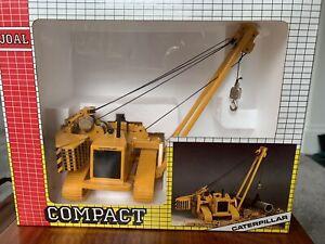 JOAL Vintage Compact Caterpillar Pipelayer Original Box C-591 1:70