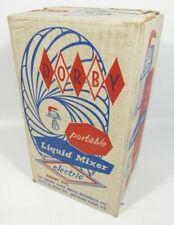 NEW VTG 1950's DORBY Portable Electric Liquid Kitchen Blender Hand Mixer - NOS
