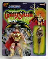 "Super 7 Masters of the Universe MOTU He-Ro Vintage 5.5"" Figure MOC"