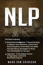 Nlp : 2 Manuscripts - Emotional Intelligence, Hypnosis: By Eriksson, Mark