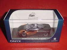 PEUGEOT CONCEPT CAR ONYX 1/43 NOREV EN BOITE
