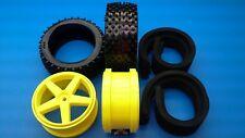 Original Lauterbacher Reifen- + Felgensatz m. SLD Must-Reifen f. Elcon Cleon MMX