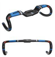 TOSEEK Full Carbon Fiber Road Bike Racing Drop Bar Bicycle Rise Handlebar 31.8mm