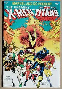 MARVEL AND DC PRESENTS X-MEN TEEN TITANS # 1 US Comic 1982