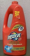Resolve Gold Laundry Stain Remover 60 fl oz each. New