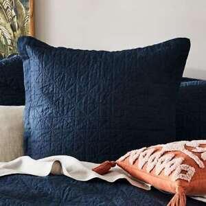 Euro vintage linen Pillow case Old navy