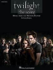 Twilight - The Score: Music from the Motion Picture (Piano Solo Songbo-ExLibrary