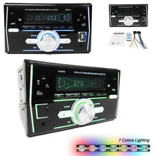 2 Din LCD Screen Car Stereo Radio FM MP3 Player USB SD Bluetooth Remote Control