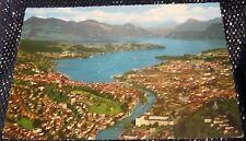 Switzerland Luzern Flugaufnahme Vierwaldstattersee - posted 1969