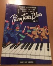 Piano Jazz Blues by Annick Chartreux (Sheet Music)