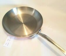 "Mauviel 1830  10.5"" Frying Pan  Copper  new"