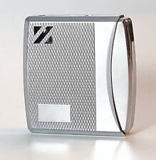 Vintage Colibri Molectric 81 Z Stainless Steel Gas Lighter EUC