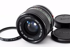 Canon New FD NFD 35mm F/2 MF Lens for FD Mount EXC++ condition from japan 243510
