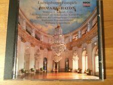 Haydn: Cello-konz. Nr. 1. Mozart: Konz. für 2 Klav. Schmidt, Grau, Gönnewein. 1