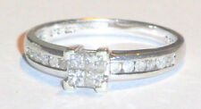 9ct White Gold Ladies .33ct Diamond Ring Size M.CHRISTMAS DECEMBER SALE